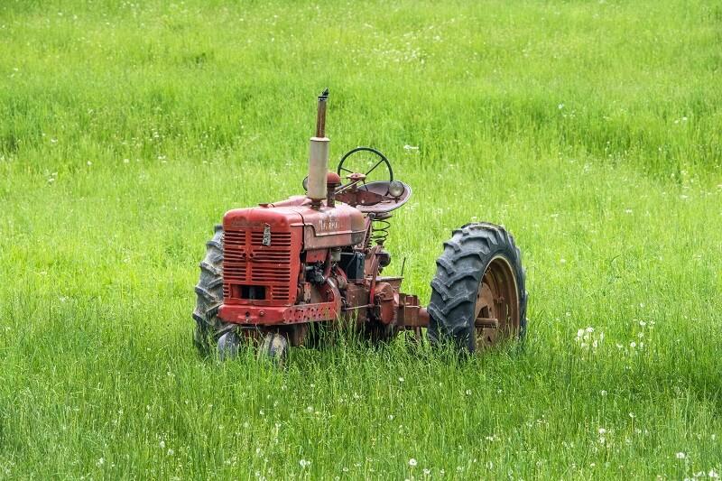 Huile Hydraulique dans un petit tracteur