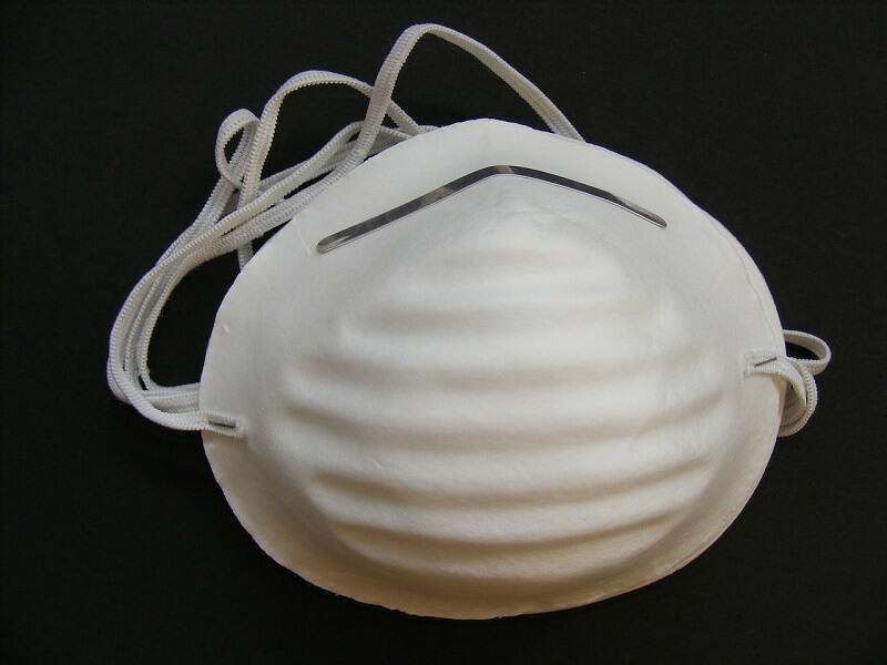 les différents types de masques anti poussière disponibles