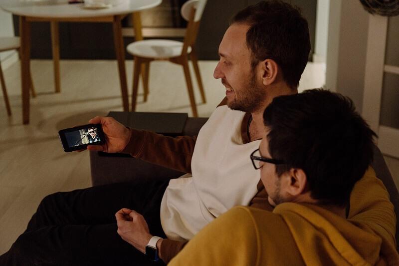 sonnette avec caméra sur smartphone