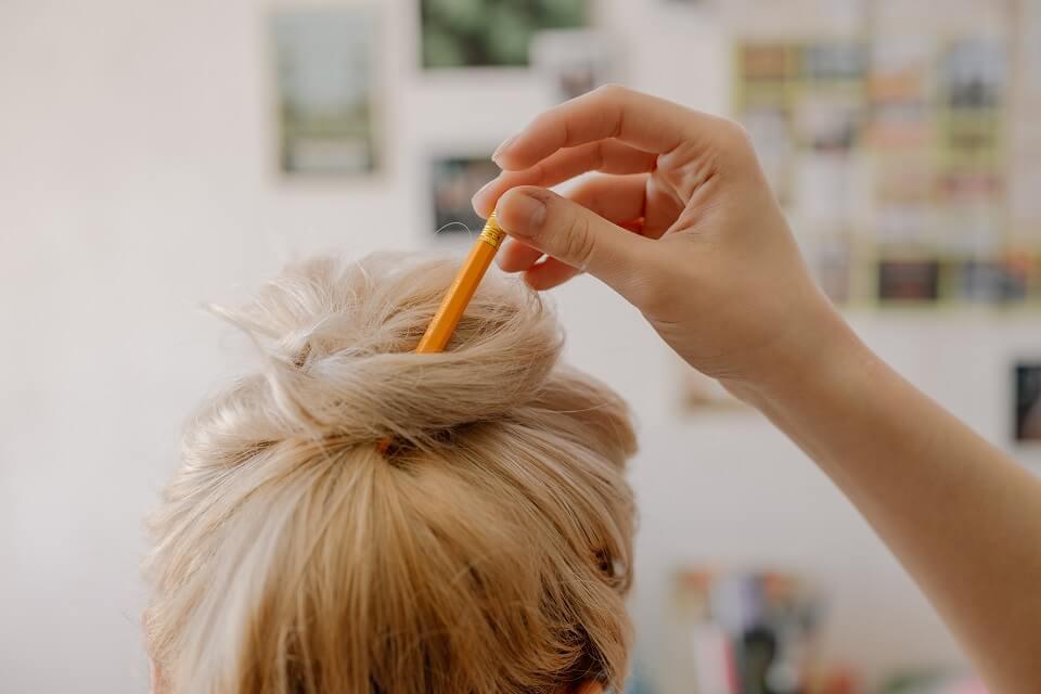 Les femmes aux cheveux colorés