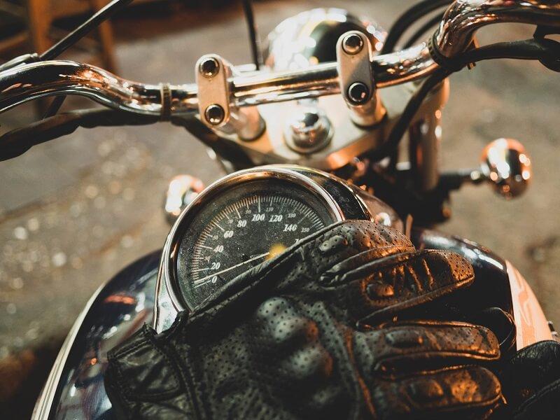 gant de moto