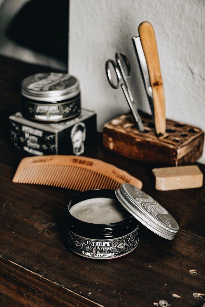 produit pour entretien de la barbe