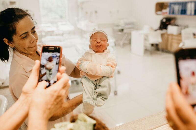 Camera pour moniteur bébé.