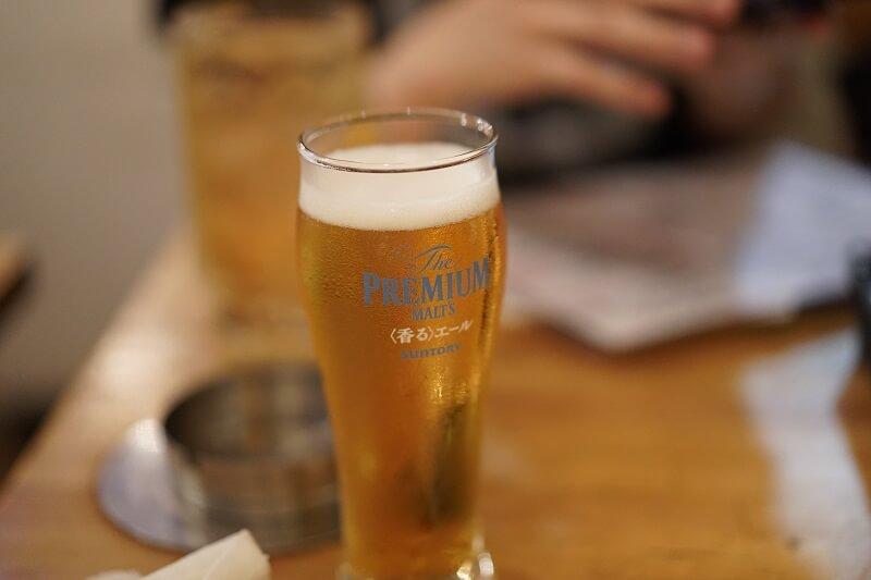 Photo de la tour à bière.